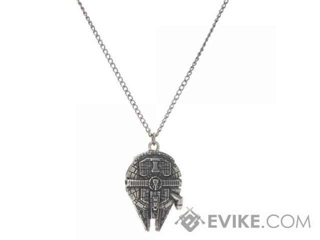 Star Wars Millennium Falcon Metal Chain Necklace, Tactical