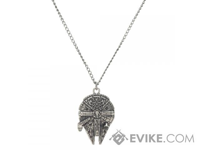 Star Wars Millennium Falcon Metal Chain Necklace, MORE
