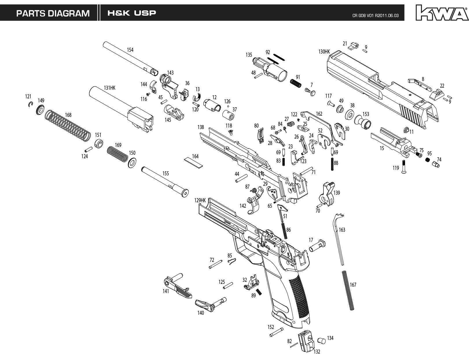 gun grip diagram