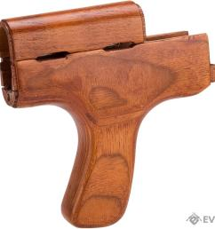matrix romania type real wood ak handguard w vertical grip kit [ 1200 x 900 Pixel ]