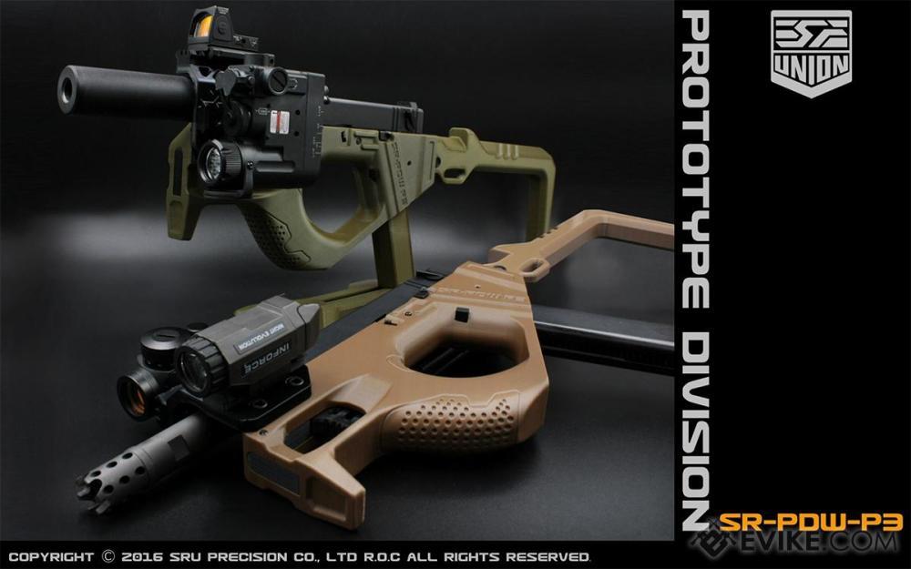 medium resolution of sru 3d printed pdw gas blowback pistol carbine color black airsoft guns gas airsoft pistols we cqb master evike com airsoft superstore