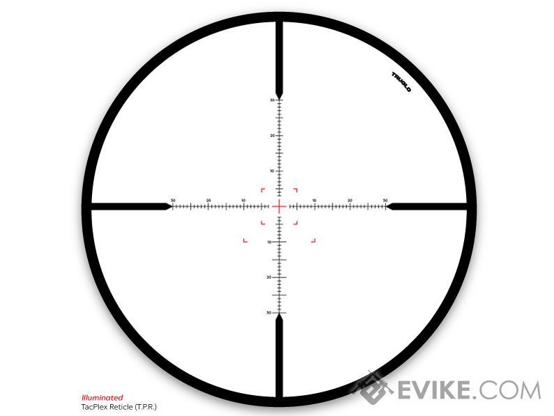 TruGlo Eminus™ 3-9x24 Illuminated Reticle Tactical Rifle
