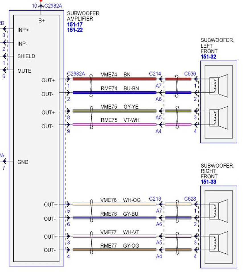 dual 4 ohm subwoofer wiring diagram pj trailer brake how to install amp manual 2019 ebook library picture