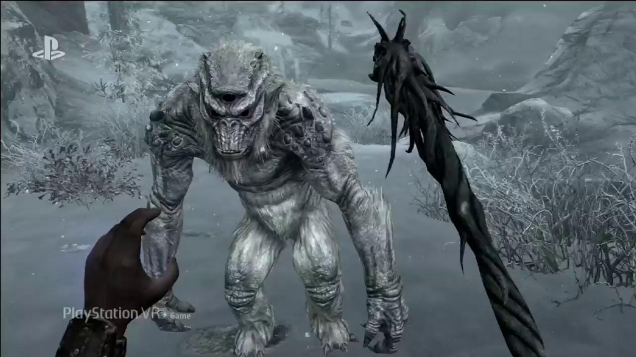 E3 Skyrim VR Is Coming To PlayStation 4 Evil Controllers