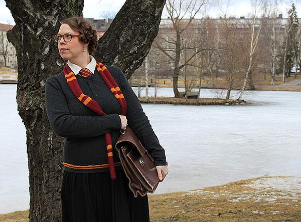Rohkelikon Koulupuku Gryffindor Uniform
