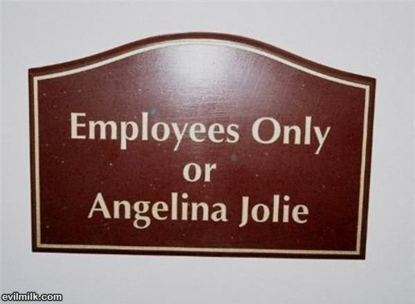 Employees Or Angelina Jolie