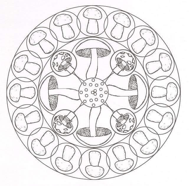 Sonbahar Mevsimi Mandala Etkinlikleri Harika Mandala