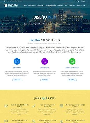 Diseño páginas web y tiendas virtuales - Fondo mínimo