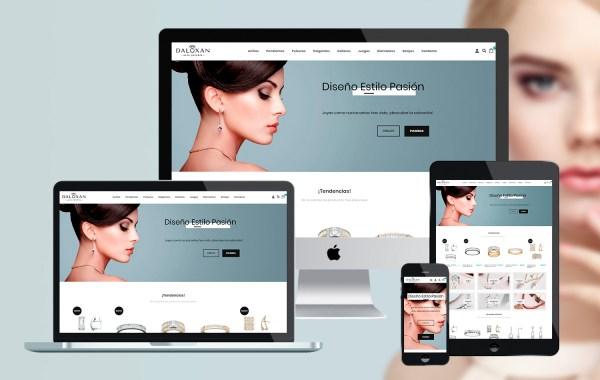 Proyecto Daluxan - Desarrollo tienda online, imagen e identidad corporativa