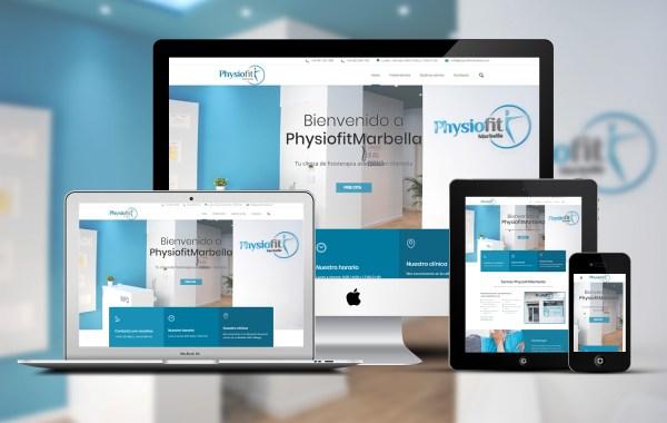 Proyecto Physiofit Marbella - Diseño de Página Web a medida