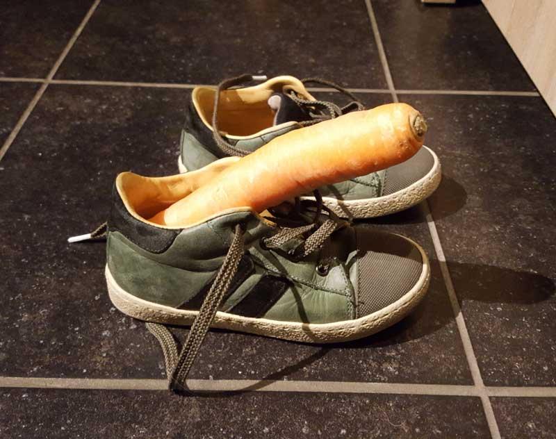 Schoentje-zetten