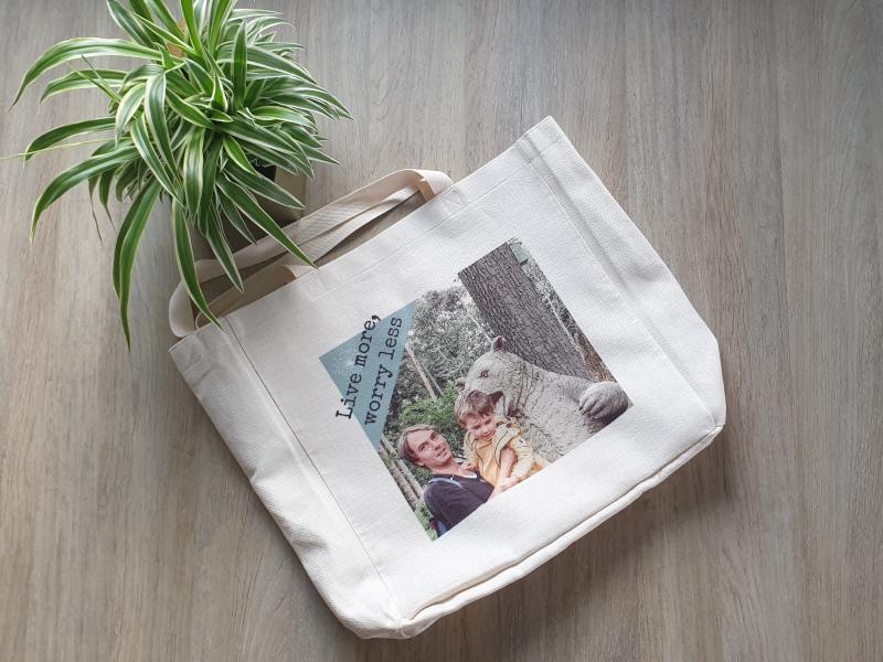 Shopper: eigen afbeeldingen en tekst