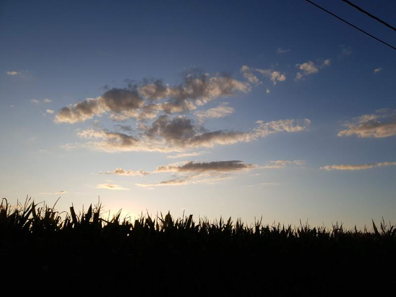 Hoe het hier nu gaat: wolken afgewisseld met zon