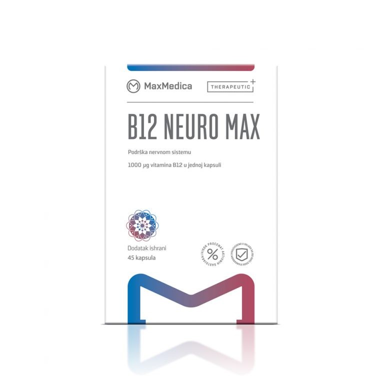MaxMedica B12 Neuro Max витамин Б12 со фолна киселина