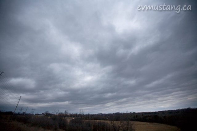 image of stormy November clouds