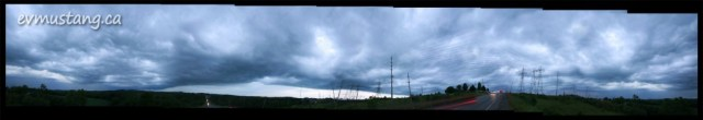 image of 360 degree view from the hill on Ackison Road, Peterborough