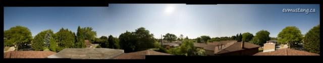 360° image of suburban London, Ontario