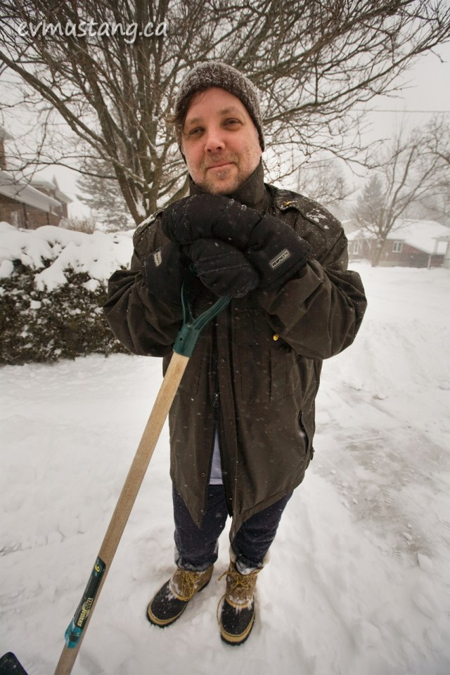 image of jeff maclin in the snow