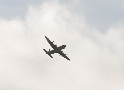 image of silhouette of bomber 2013
