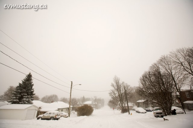 image of snowy streetscape