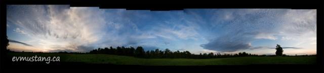 Moonrise on Solstice