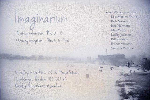 image of imaginarium group show poster