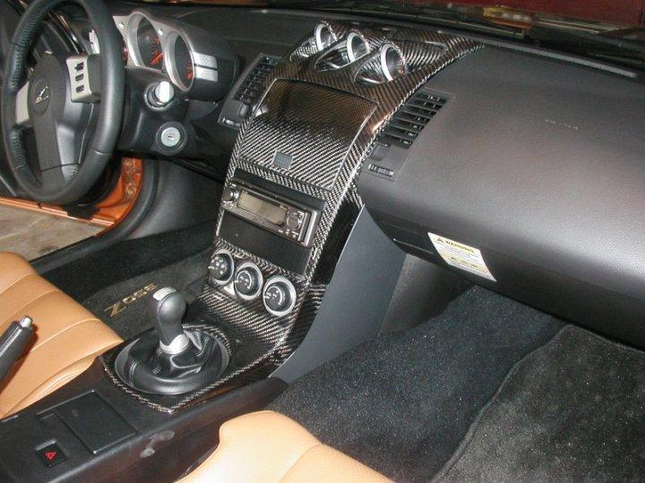 Nissan 350z Interior Parts