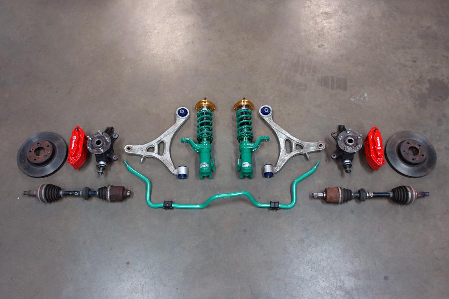 jdm dc5 brake suspension