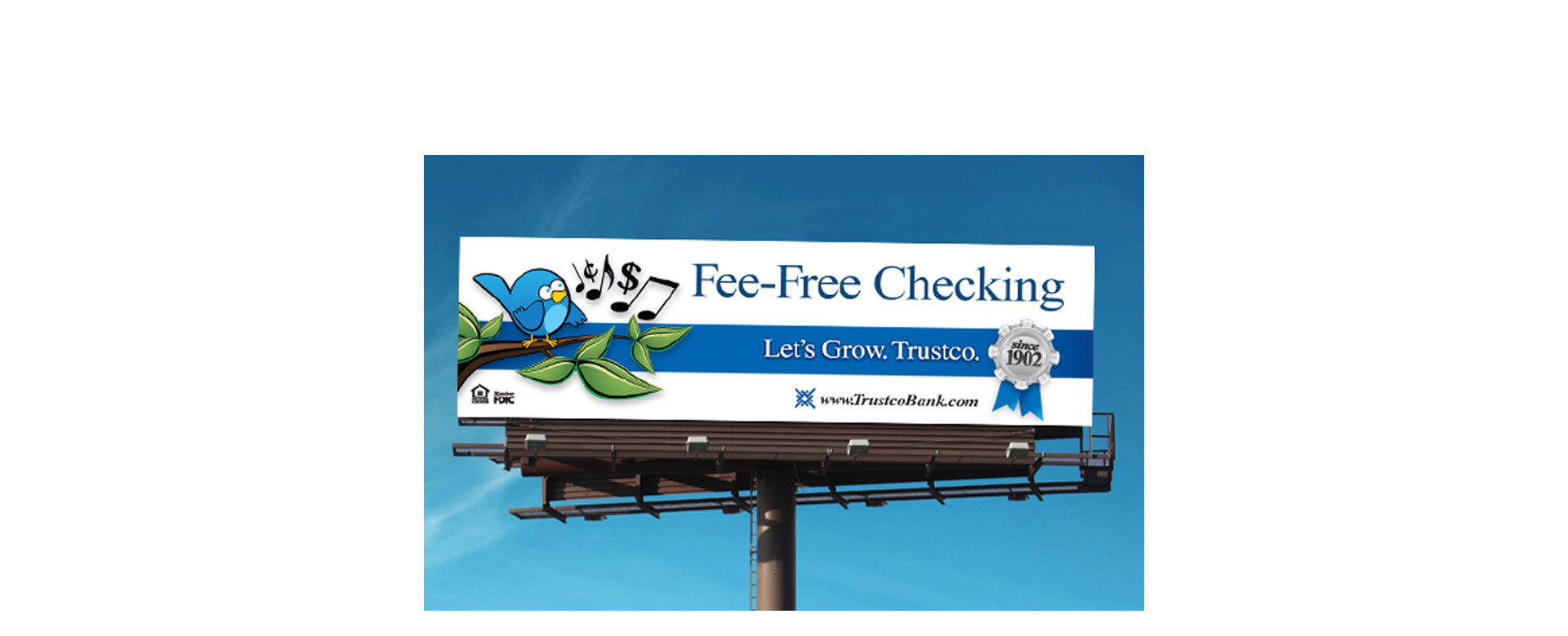 Fee-Free Checking Outdoor Campaign