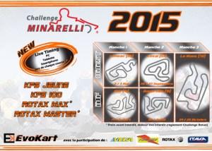Calednrier Challenge Minarelli 2015