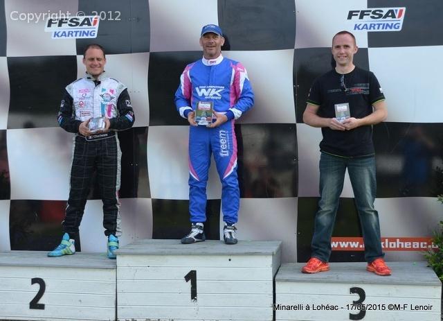 Lohéac 2015 - podium master evo