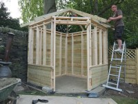 Diy Garden Summer House Plans