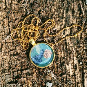 Les Sautoirs dorés Ma Rose Sautoir rond doré chaine boule dorée 40 à 50 cm modèle unique evol bijoux