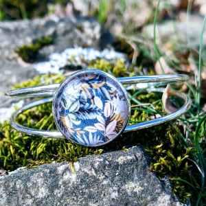 bracelet jonc acier prémices d'été evol bijoux