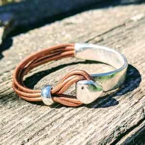 demi jonc pointe cuivre irisé evol bijoux
