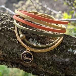 bracelet auprès de mon arbre love evolbijoux
