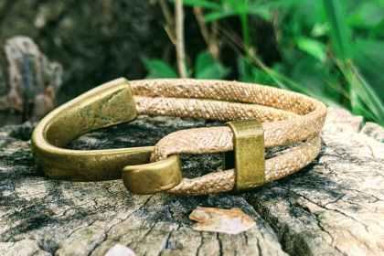 bracelet demi jonc fruit du cerisier cappucino evolbijoux (2)