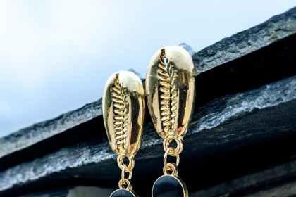 boucles d'oreilles Koris dorées evolbijoux (1)