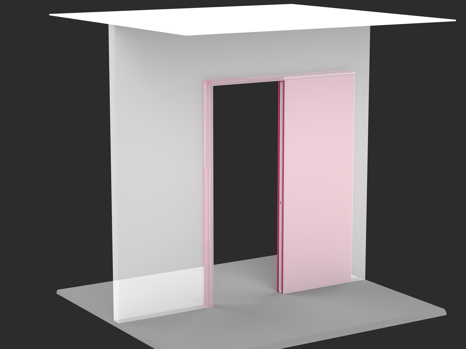 Porta scorrevole interno muro  Evoline3