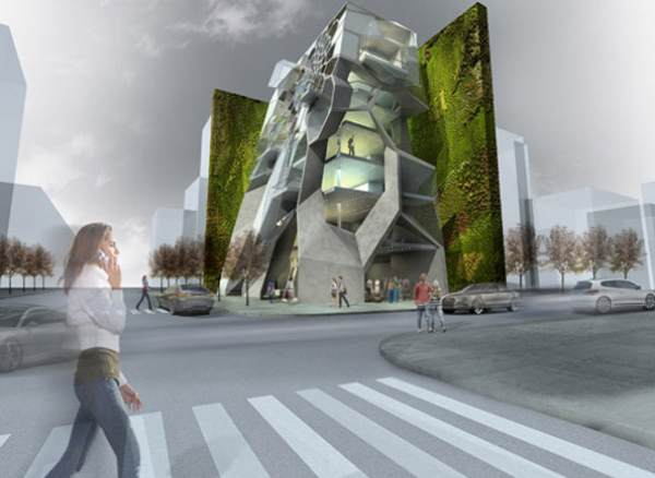 The MultiStorey Building for Amman Jordan  eVolo