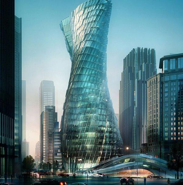 Twisting Tower Shanghai