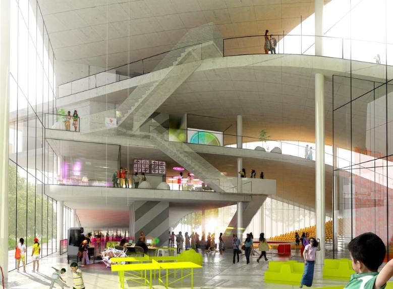 Cultural Center In Denmark BIG Architects EVolo