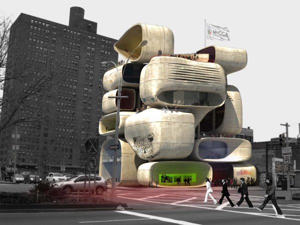 Museum Of Comic And Cartoon Art - Evolo Architecture