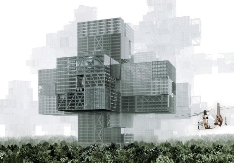 Neotax 3d City Grid 3b Şehir Izgarası Renkli Şeyler