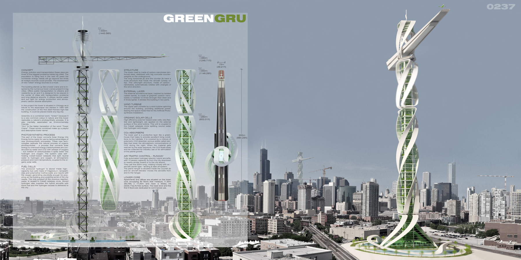 GreenGru Airportscraper eVolo  Architecture Magazine