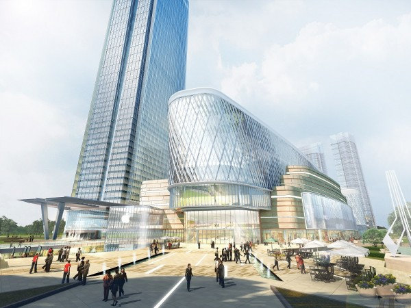 Aedas Designs A Chinese Knot Tie Mixed Use Development
