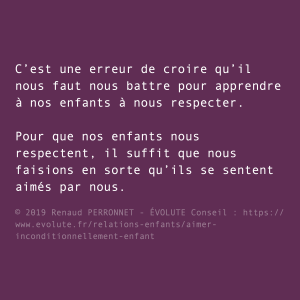 Respect des parents