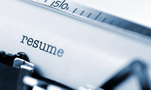 Resume & CV Writing