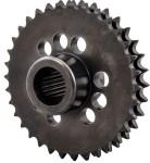 34 Tooth Solid Motor Sprocket Compensator Eliminator