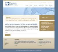 Website Design and Development for CPA Firm | Evolution Design